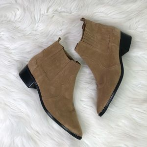 Marc Fisher Yohani Suede Booties Size 11M